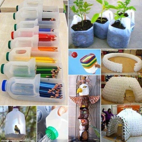 Красивые вещи из подручных материалов для дома