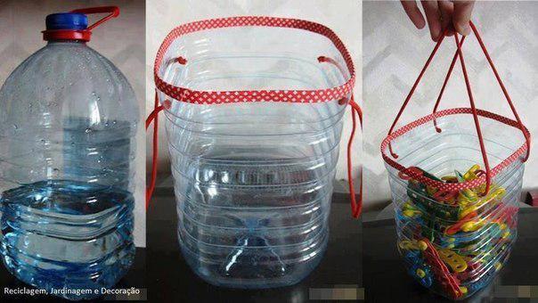 Поделки из большой пластиковой бутылки