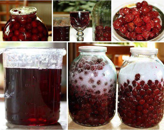 Рецепт вишневого ликера в домашних условиях