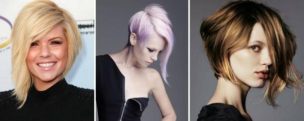 Модные причёски 2017 год