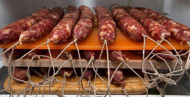 Сыровяленая колбаса рецепты в домашних условиях