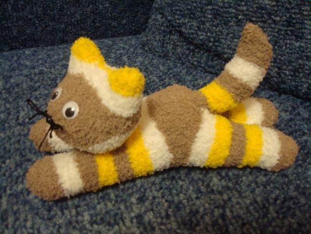 Носки для кота своими руками