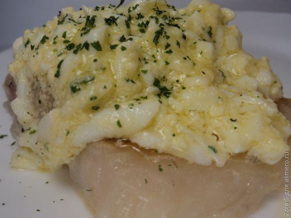 Рыба по-польски с яйцом фото
