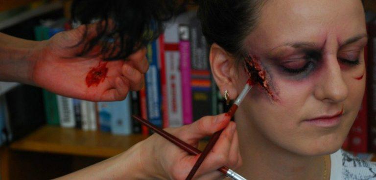 Как сделать порезы гримм