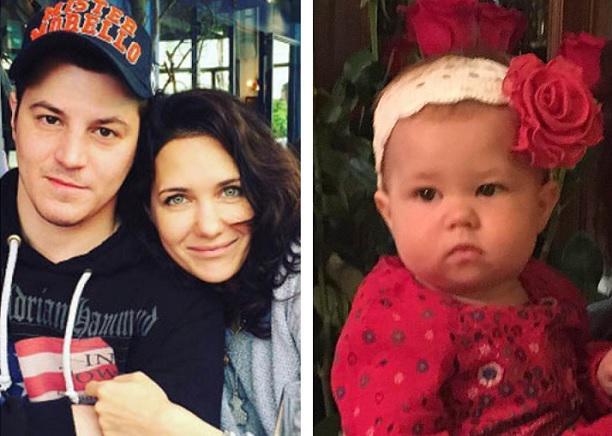 Гела Месхи - муж Екатерины Климовой и их дочь Бэлла 33 ...