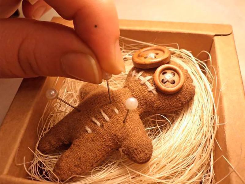 Кукла вуду как сделать своими руками в домашних условиях видео