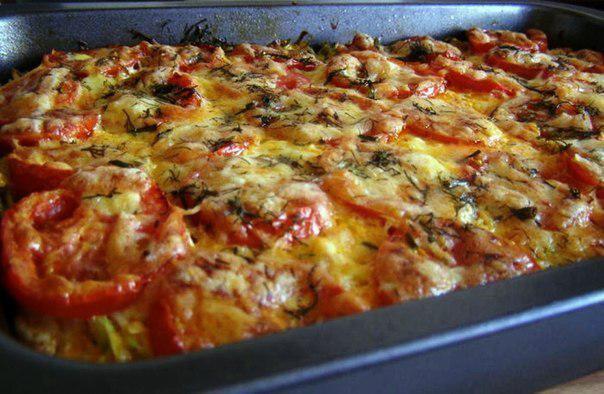 Запеканка картофельная с фаршем и помидорами в духовке рецепт с пошаговый