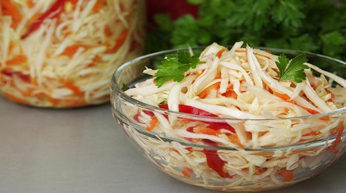 Салат на каждый день простой с фото