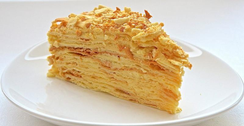 Рецепты вкусных тортов наполеон