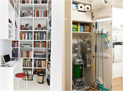 Как обустроить удобную кладовку в квартире - наш дом и дача .