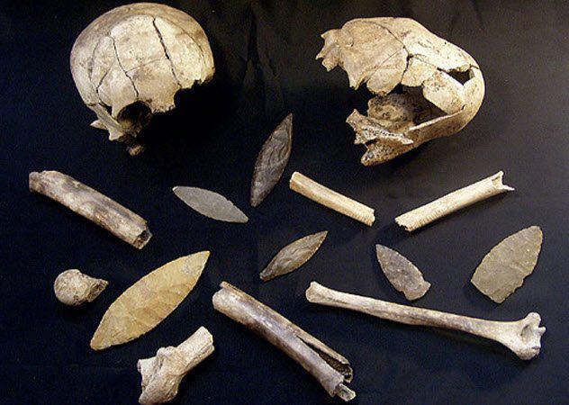 Шокирующие находки археологов и полицейских - интересное и н.